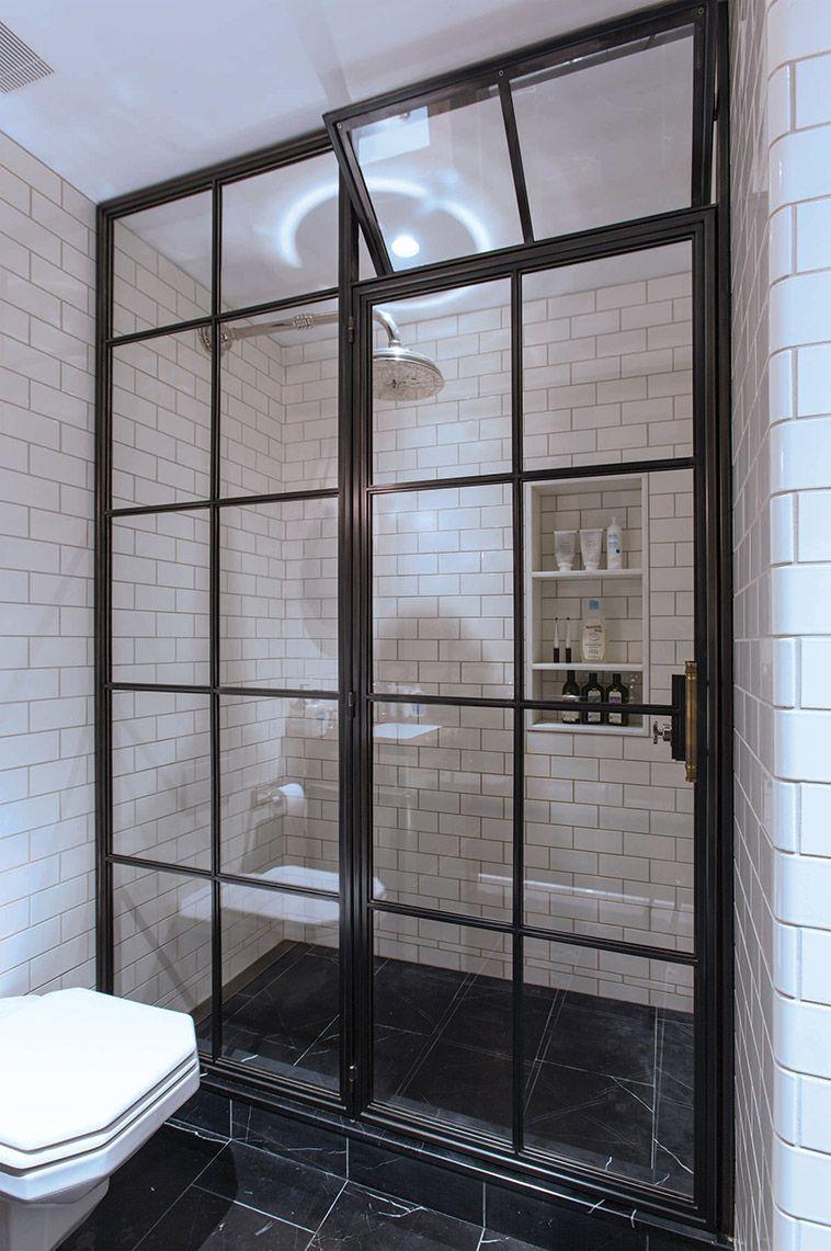 The Frankford Shower Door Amuneal Magnetic Shielding Custom