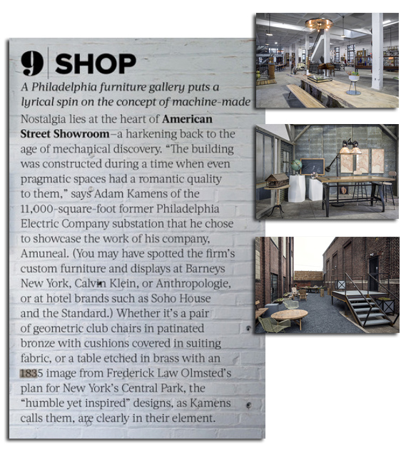 American Street Grand Opening in Lonny Magazine-Clipping-1