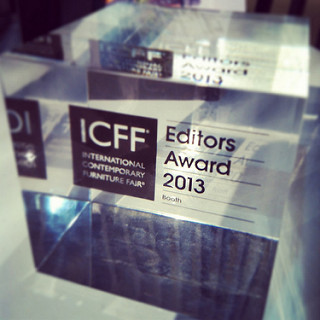 Amuneal Awarded Best Booth of 2013 at ICFF