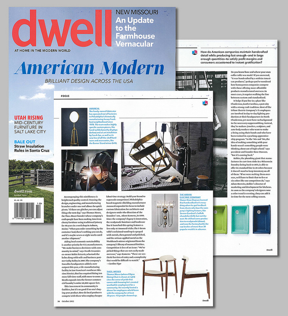 Homeland Ingenuity in Dwell Magazine