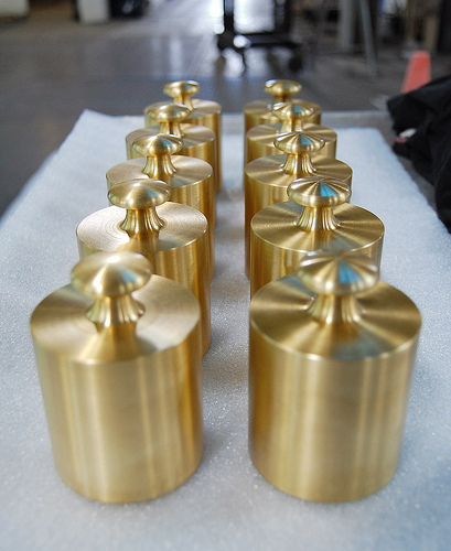 Inspired Brass Weights