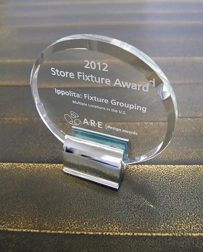 Ippolita Fixtures A.R.E. 2012 Design Award winners
