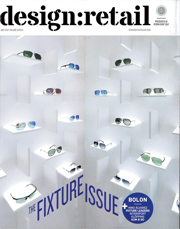 Design Retail Magazine Cover Press